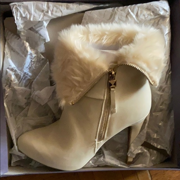 Jennifer Lopez Shoes White Booties Poshmark